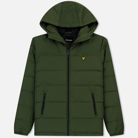 Мужской пуховик Lyle & Scott Wadded Woodland Green
