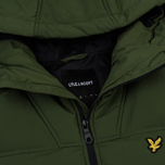 Мужской пуховик Lyle & Scott Wadded Woodland Green фото- 3