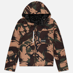 Мужской пуховик M+RC Noir East Puffer Green Camo