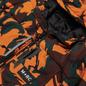 Мужской пуховик M+RC Noir East Puffer Orange Camo фото - 1