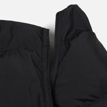 Мужской пуховик MSGM Cropped Down Hood Black фото- 3