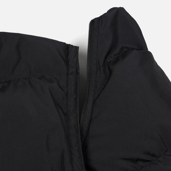 Мужской пуховик MSGM Cropped Down Hood Black