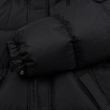 Мужской пуховик MSGM Cropped Down Hood Black фото- 6
