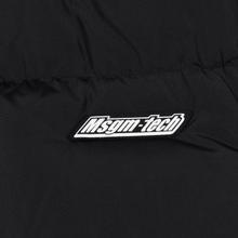 Мужской пуховик MSGM Cropped Down Hood Black фото- 7