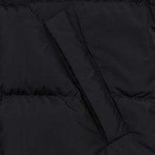 Мужской пуховик MSGM Cropped Down Hood Black фото- 8