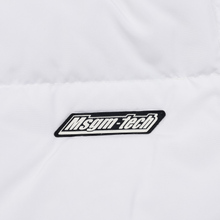 Мужской пуховик MSGM Cropped Down Hood White фото- 6