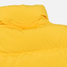 Мужской пуховик MSGM Cropped Down Hood Yellow фото- 4