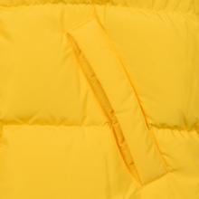 Мужской пуховик MSGM Cropped Down Hood Yellow фото- 5