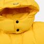 Мужской пуховик MSGM Cropped Down Hood Yellow фото - 2