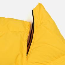 Мужской пуховик MSGM Cropped Down Hood Yellow фото- 6