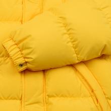 Мужской пуховик MSGM Cropped Down Hood Yellow фото- 7