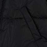 Мужской пуховик MSGM Logo Hood MSGM Black фото- 4