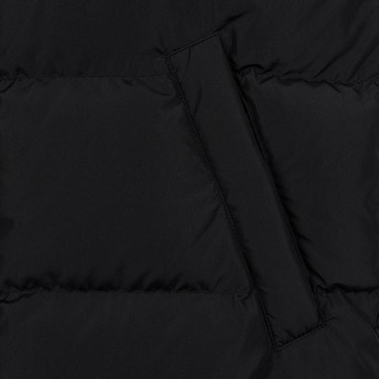 Мужской пуховик MSGM Tech Long Down Black