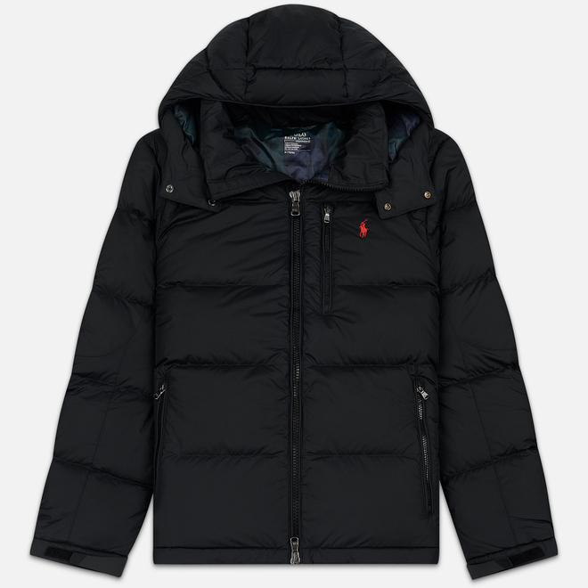 Мужской пуховик Polo Ralph Lauren El Cap Mid Weight Down Black