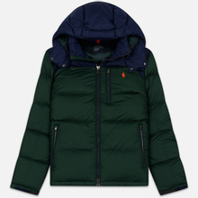 Мужской пуховик Polo Ralph Lauren El Cap Mid Weight Down College Green/Cruise Navy фото- 0