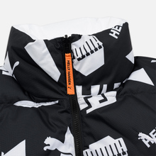 Мужской пуховик Puma x Helly Hansen Reversible Black/All Over Print Front фото- 4