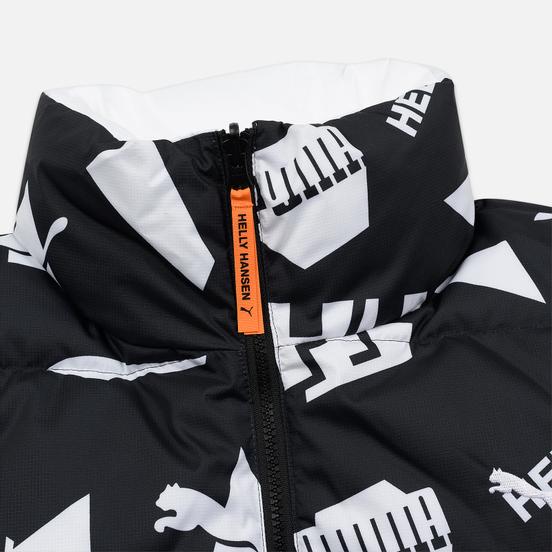 Мужской пуховик Puma x Helly Hansen Reversible Black/All Over Print Front