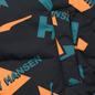 Мужской пуховик Puma x Helly Hansen Reversible Teal Green/All Over Print Front фото - 4