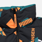 Мужской пуховик Puma x Helly Hansen Reversible Teal Green/All Over Print Front фото - 7