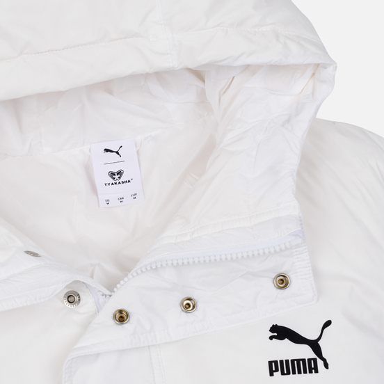 Мужской пуховик Puma x Tyakasha Down White