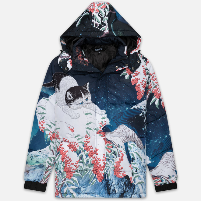 Мужской пуховик RIPNDIP Snow Bird Puffer Multicolor