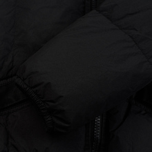 Мужской пуховик Stone Island Crinkle Reps Lightweight Nylon Down Black фото- 6