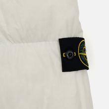 Мужской пуховик Stone Island Crinkle Reps Lightweight Nylon Down Natural White фото- 5