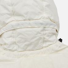 Мужской пуховик Stone Island Crinkle Reps Lightweight Nylon Down Natural White фото- 4