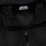 Мужской пуховик Stone Island Garment-Dyed Crinkle Reps Nylon Down Black фото- 2