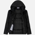 Мужской пуховик Stone Island Garment-Dyed Crinkle Reps Nylon Down Black фото- 1