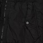 Мужской пуховик Stone Island Garment-Dyed Crinkle Reps Nylon Down Black фото- 4