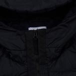 Мужской пуховик Stone Island Garment-Dyed Crinkle Reps Nylon Down Navy Blue фото- 3