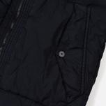 Мужской пуховик Stone Island Garment-Dyed Crinkle Reps Nylon Down Navy Blue фото- 4