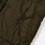 Мужской пуховик Stone Island Garment-Dyed Crinkle Reps Nylon Down Olive фото- 4