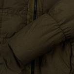 Мужской пуховик Stone Island Garment-Dyed Crinkle Reps Nylon Down Olive фото- 5