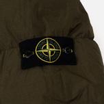 Мужской пуховик Stone Island Garment-Dyed Crinkle Reps Nylon Down Olive фото- 6