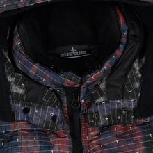 Мужской пуховик Stone Island Shadow Project DPM Chine Wool Long Black фото- 1
