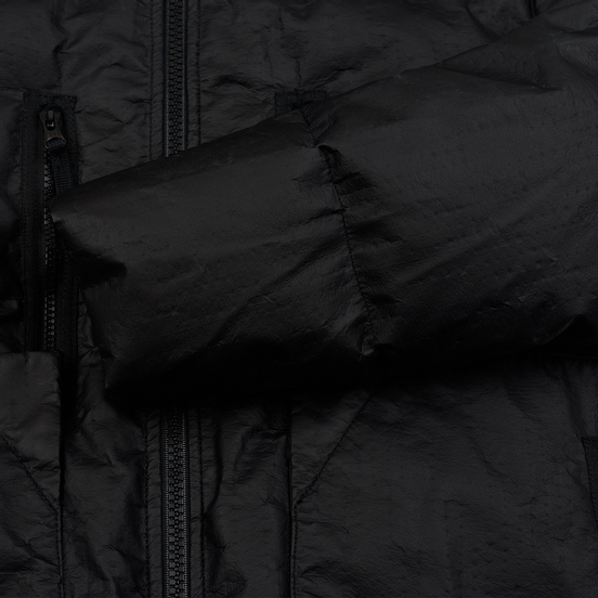 Мужской пуховик Stone Island Shadow Project Lasered Poly-Hide 2L Down Black