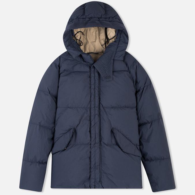 Ten C Arctic Down Men's Padded Jacket Dark Blue