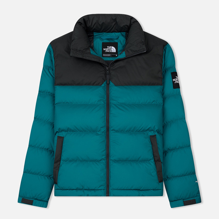 Мужской пуховик The North Face 1992 Nuptse Everglade/Asphalt Grey