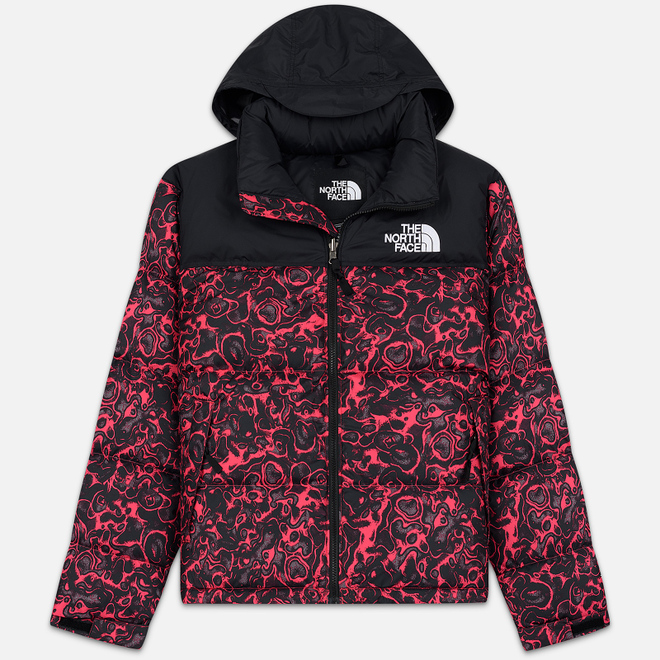 Мужской пуховик The North Face 1996 Retro Nuptse Rose Red