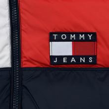 Мужской пуховик Tommy Jeans Essential Colour-Blocked Recycled Padded Black Iris/Multi фото- 4