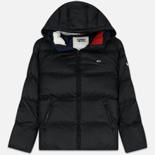 Мужской пуховик Tommy Jeans Essential Down Regular Fit Black фото- 0