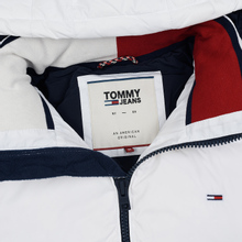 Мужской пуховик Tommy Jeans Essential Down Regular Fit Classic White фото- 1