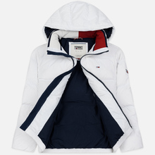 Мужской пуховик Tommy Jeans Essential Down Regular Fit Classic White фото- 2