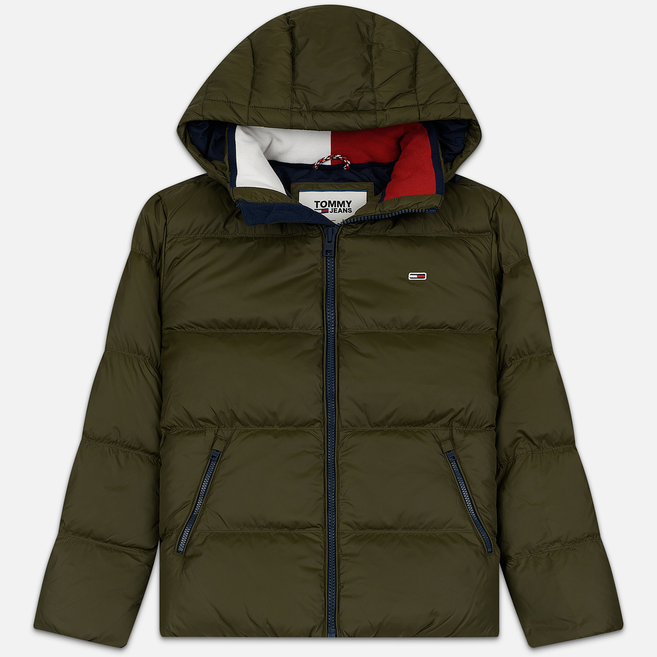 Мужской пуховик Tommy Jeans Essential Down Regular Fit Forest Night