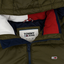 Мужской пуховик Tommy Jeans Essential Down Regular Fit Forest Night фото- 2