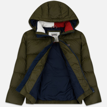 Мужской пуховик Tommy Jeans Essential Down Regular Fit Forest Night фото- 1