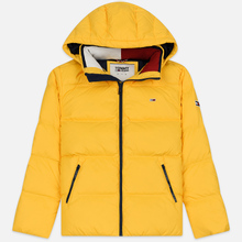 Мужской пуховик Tommy Jeans Essential Down Regular Fit Spectra Yellow фото- 0