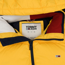 Мужской пуховик Tommy Jeans Essential Down Regular Fit Spectra Yellow фото- 2